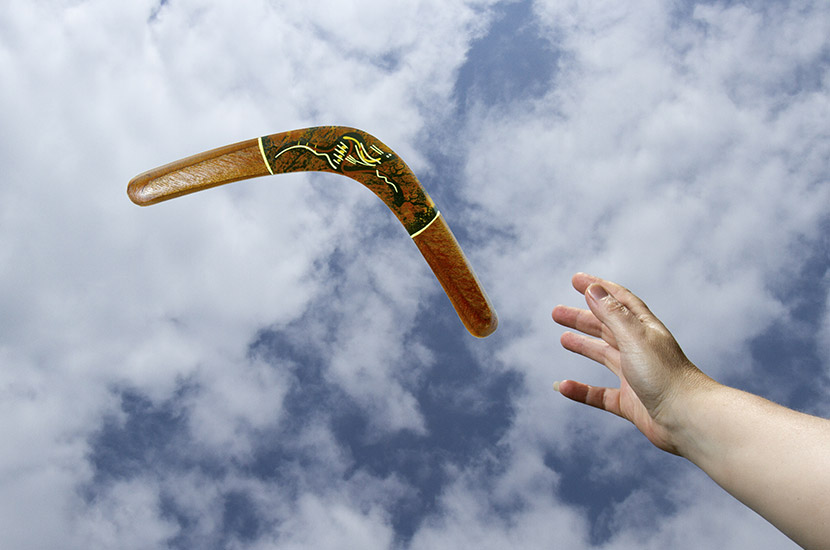 Throw Your Boomerang
